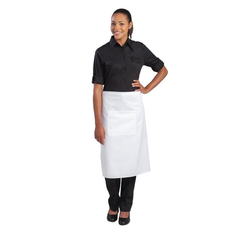 Tablier bistro standard Uniform Works blanc