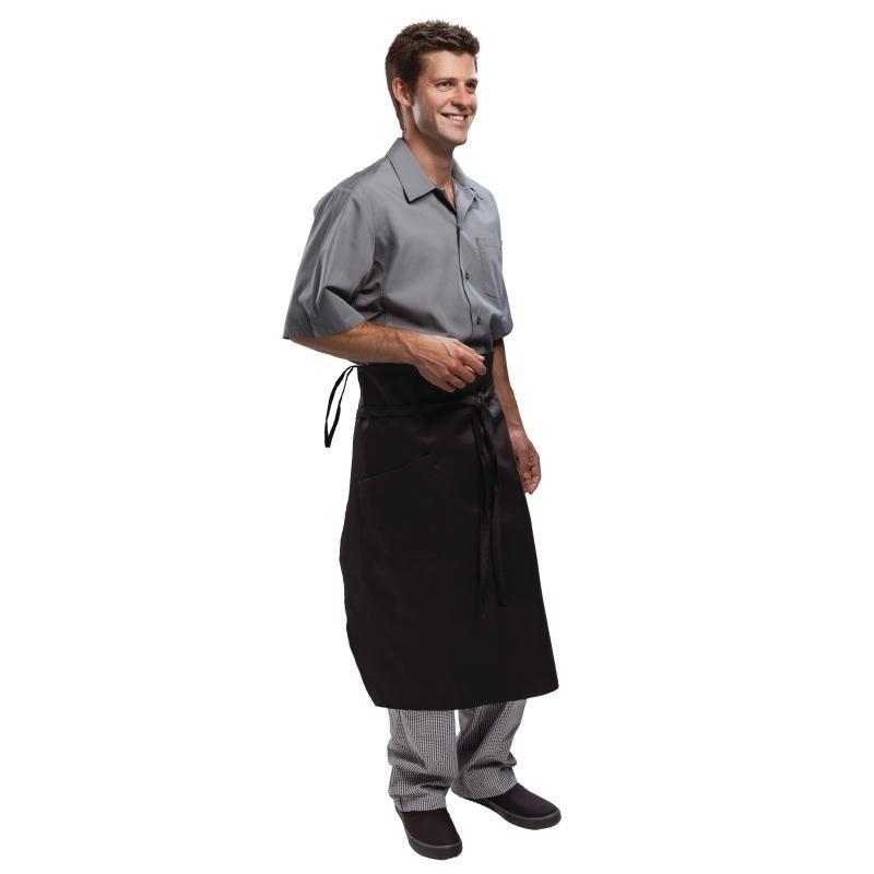 Tablier chef de brigade Chef Works Executive noir