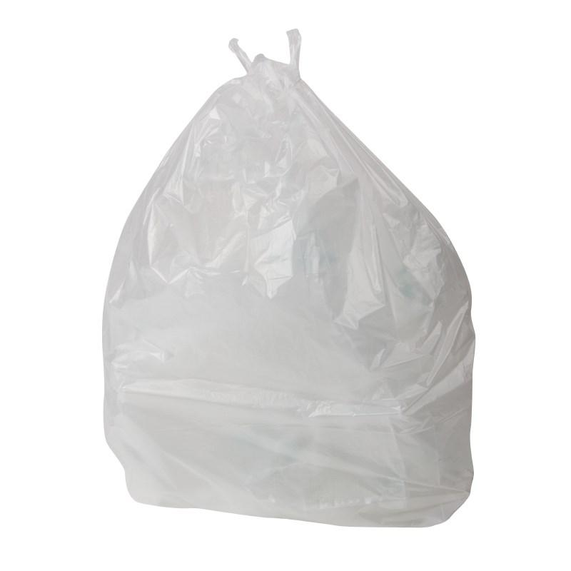 Sacs blancs pour poubelle à pédale Jantex 10L