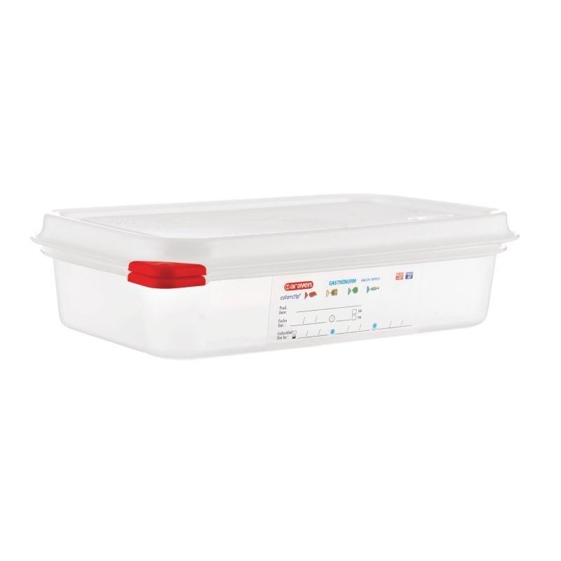 Boîte alimentaire GN1/4  Araven 1,8L