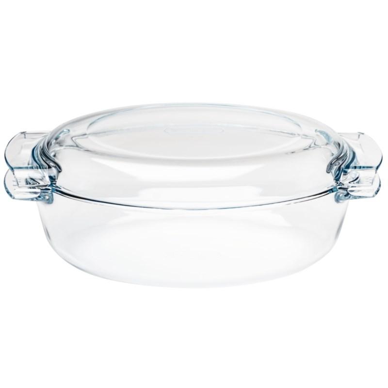 Faitout ovale en verre Pyrex 4,5L