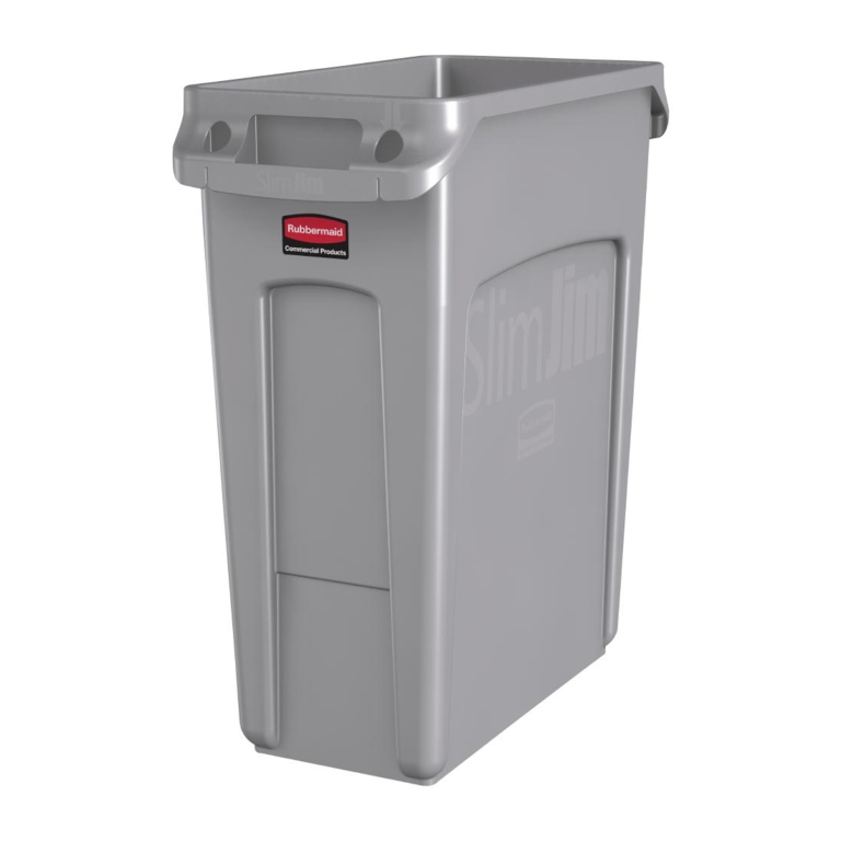 Collecteur Slim Jim Rubbermaid 60L