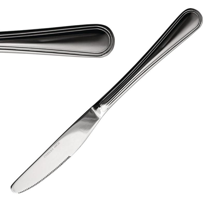 Couteaux à dessert Comas Bilbao 20 cm (x12)