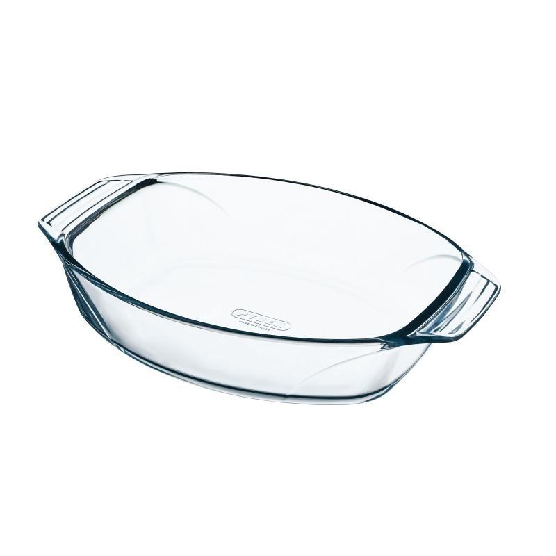 Plat à rôtir ovale en verre Pyrex 300 x 210mm