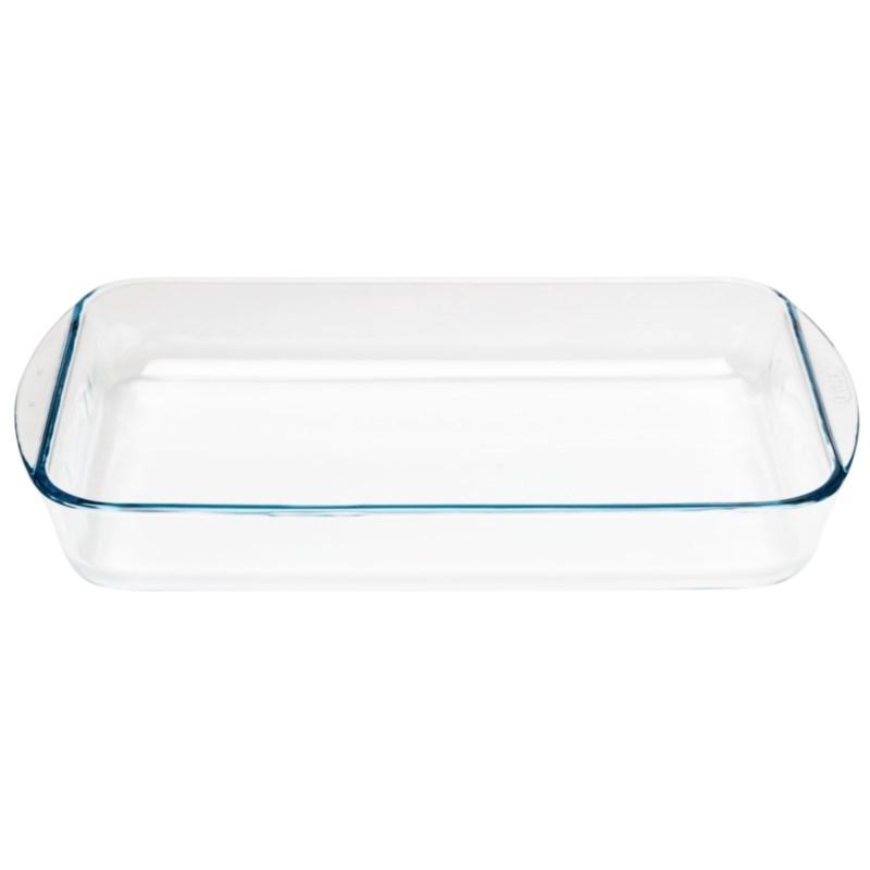 Plat à four rectangulaire en verre Pyrex 35 x 23 cm
