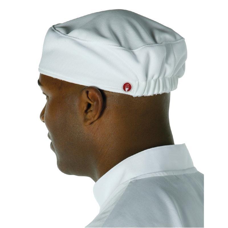 Calot de cuisine Total Vent Chef Works blanc