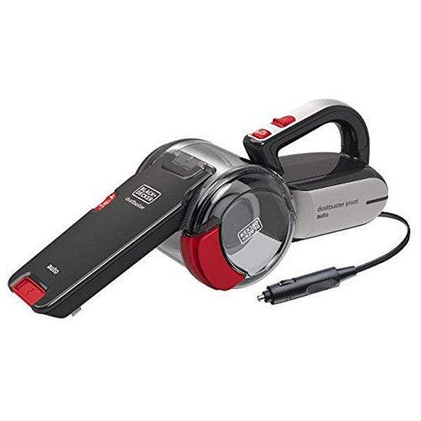 Aspirateur Manuel Cyclonique Black & Decker PV1200AV 12,5 W 0,44 L Noir Rouge