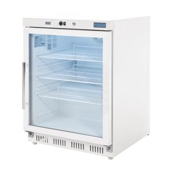 Vitrine réfrigérée dessous comptoir 150L Polar Série C