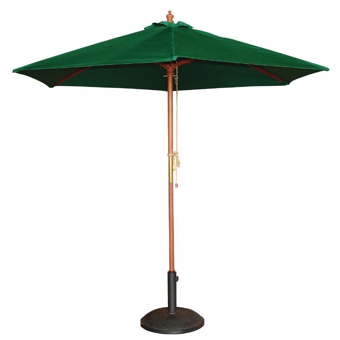 Parasol rond 3m vert