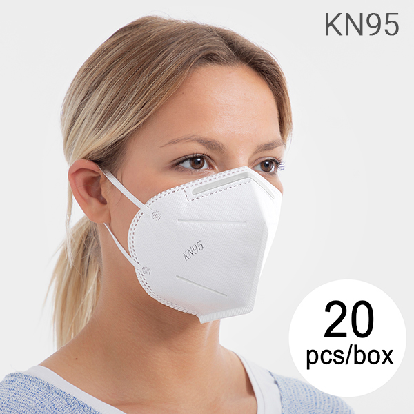Masque Respiratoire de Protection KN95 FFP2 (Pack de 20)