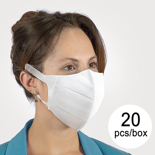 Masque Respiratoire de Protection JT (Pack de 20)