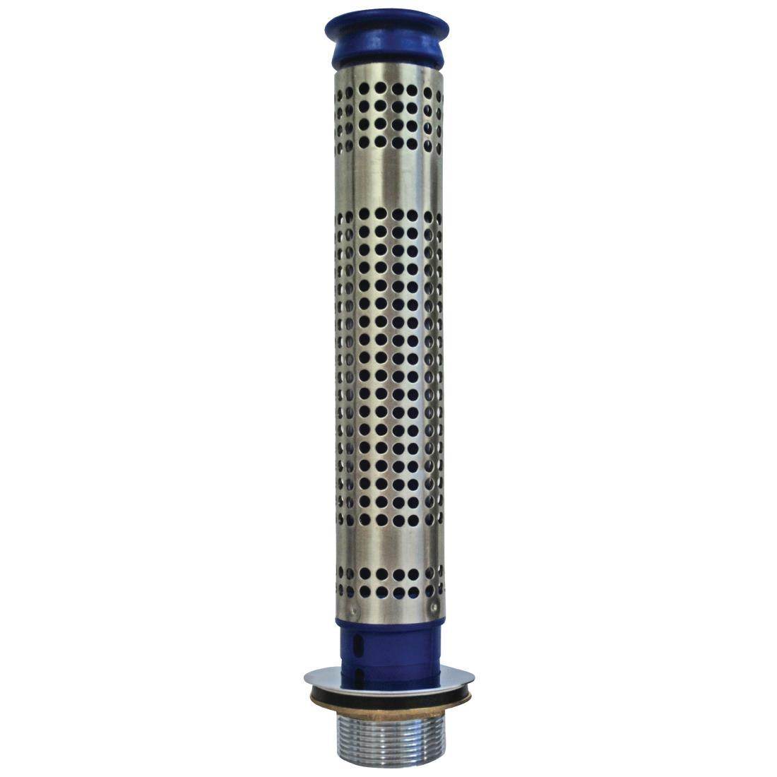 Bonde 70mm et tube de surverse avec filtre pour plonge de 300mm