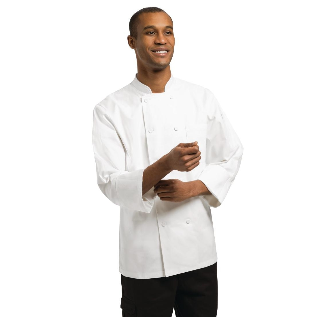 Veste chef unisexe Chef Works Phoenix blanche