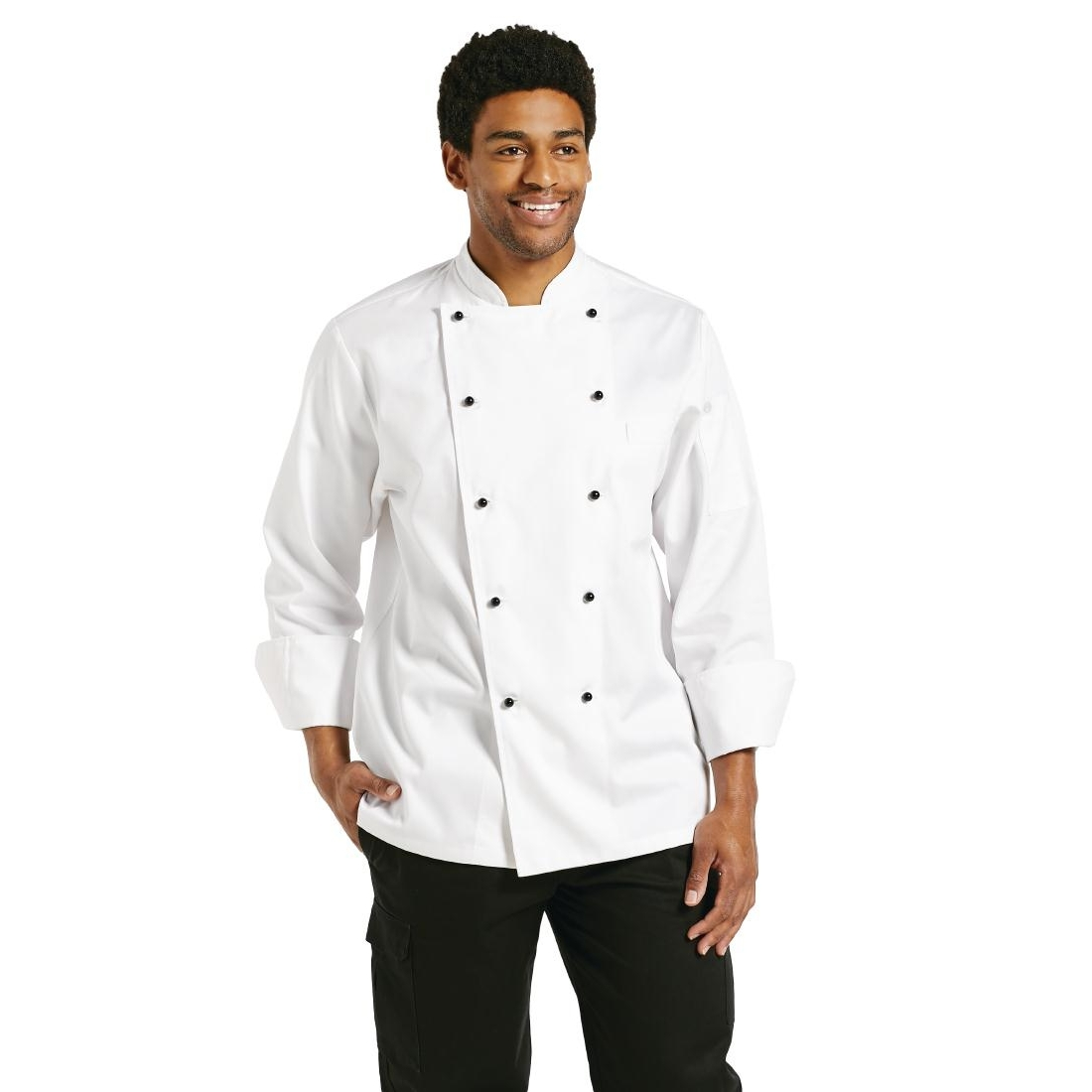 Veste chef unisexe Chef Works Chaumont manches longues