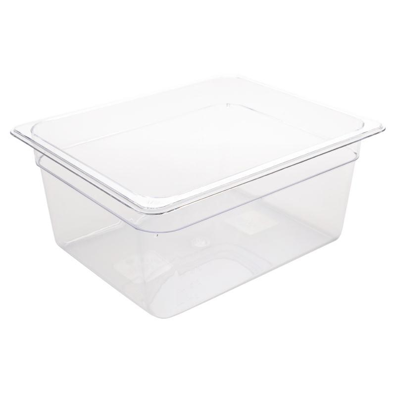 Bac Gastronorme en polycarbonate transparent un demi 150mm GN 1/2