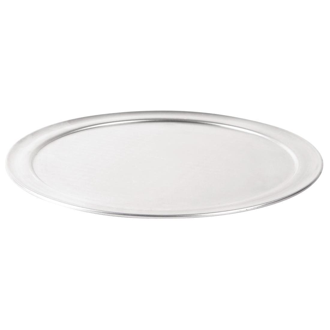 Plat à pizza aluminum bord large