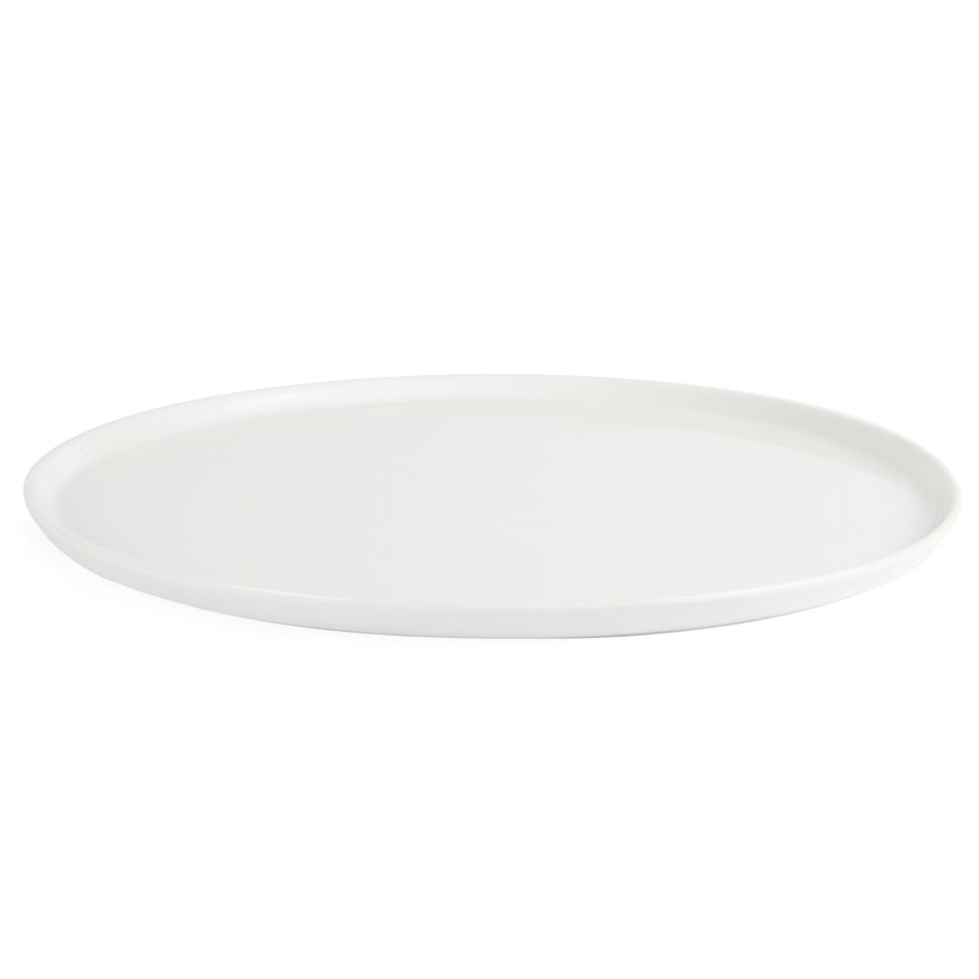 Assiettes à pizza Olympia Whiteware 330mm par 4