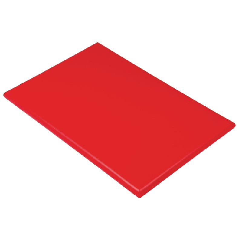 Planche à découper extra large haute densité Hygiplas 600 x 450 x 25