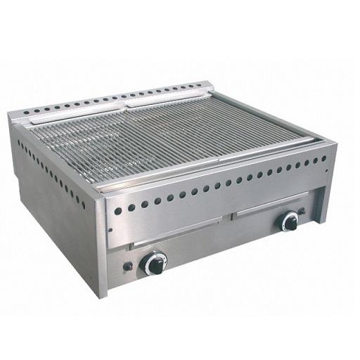 Gril pierre de lave gaz naturel et du GPL barbecue à gaz GAM-I GS6