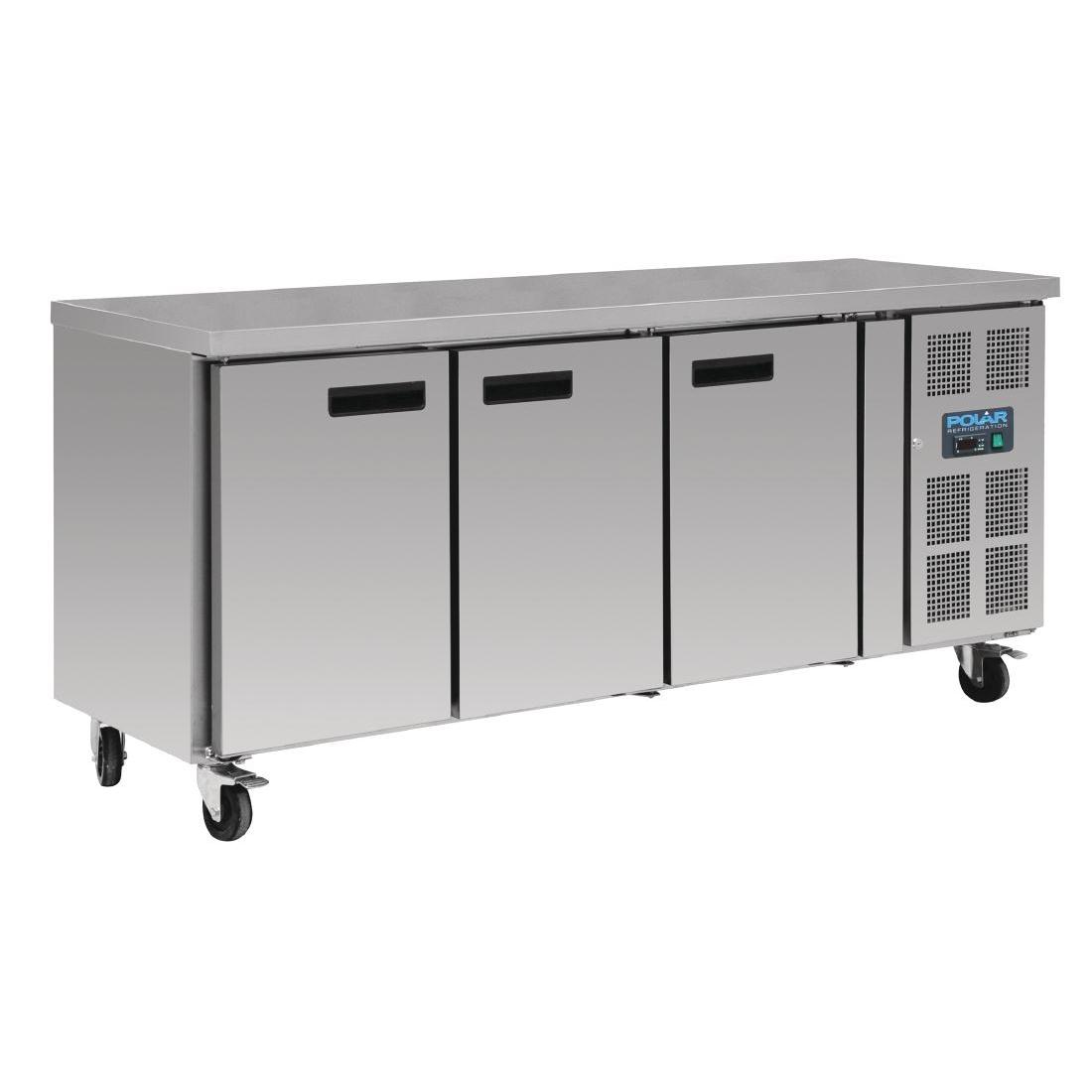 Table réfrigérée négative 417L