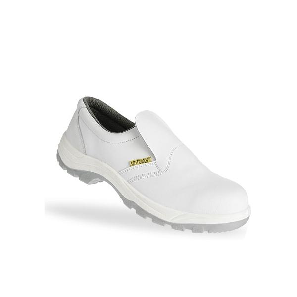 Chaussure de sécurité blanche en cuir X0500/S2