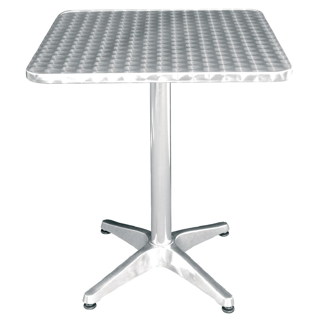 Table bistro carrée 600mm