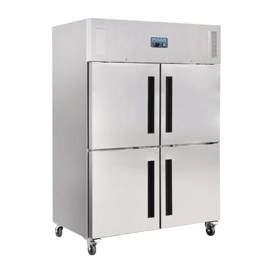 Armoire réfrigérée négative double 2 portillons GN 2/1 Polar Série G