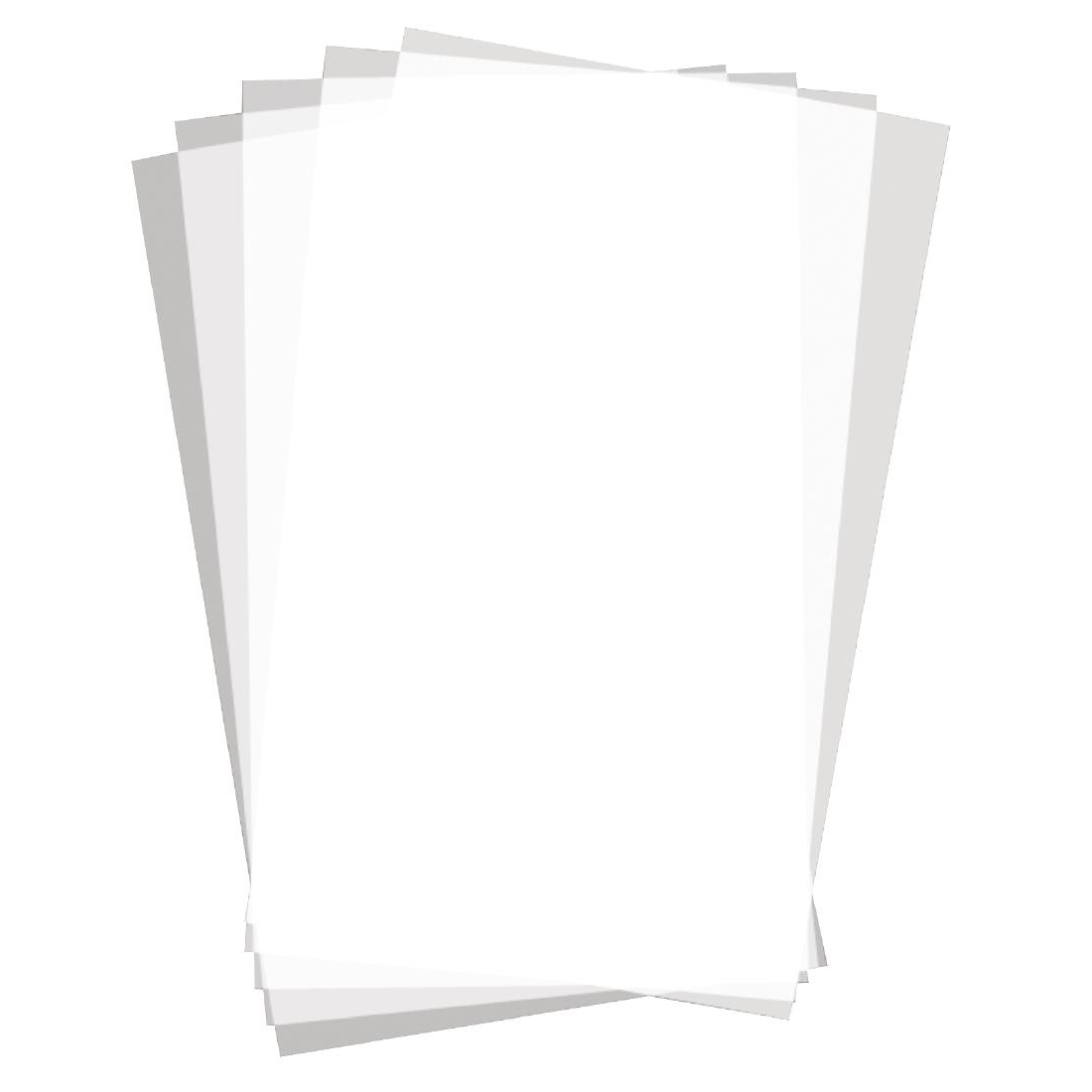 Carrés de papier ingraissable uni