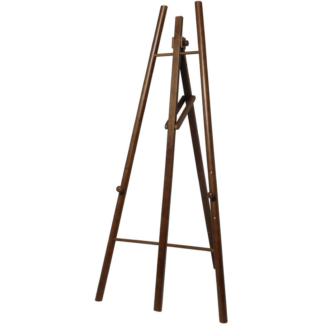 Chevalet en bois foncé Securit 160cm