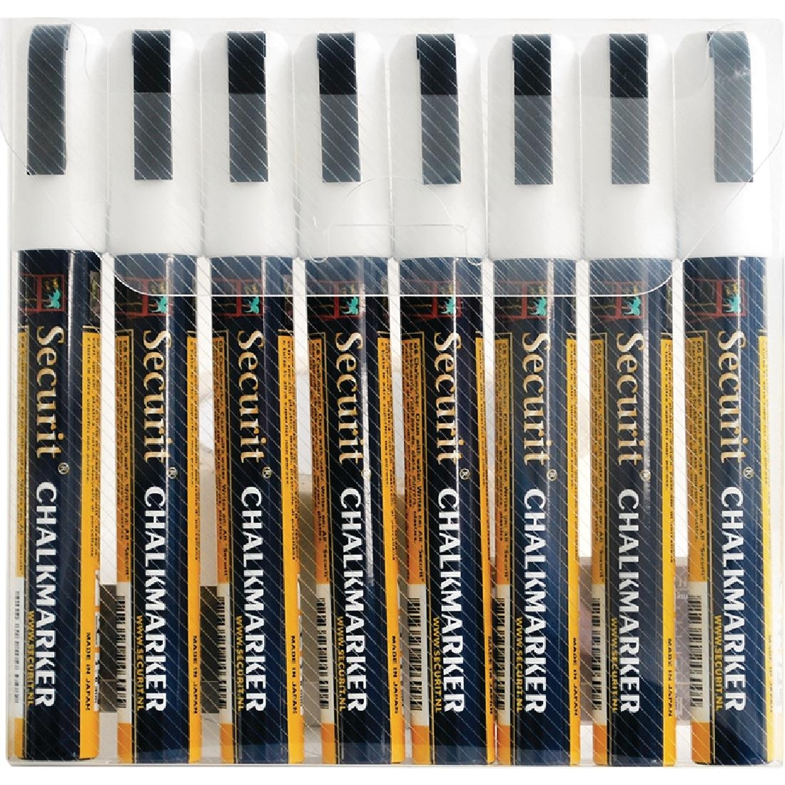 Lot de 8 marqueurs effaçables Illumigraph Securit