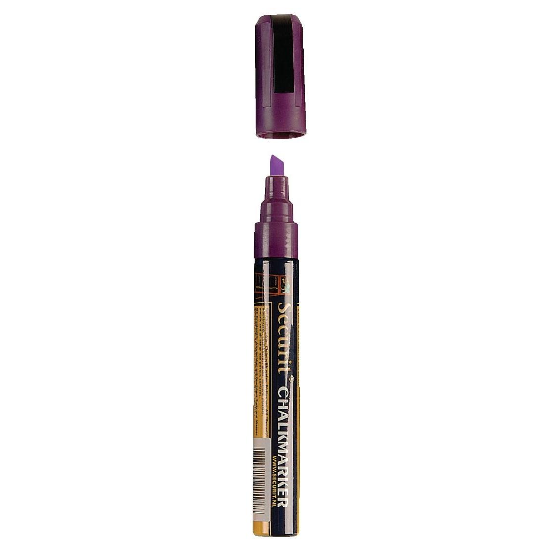 Marqueur craie 6mm violet