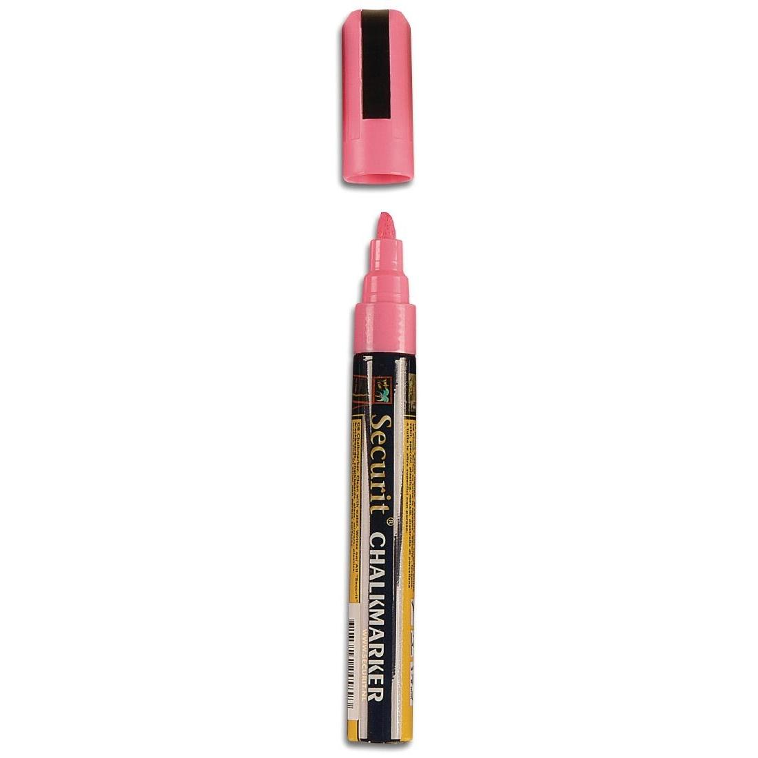 Marqueur rose trait 6mm