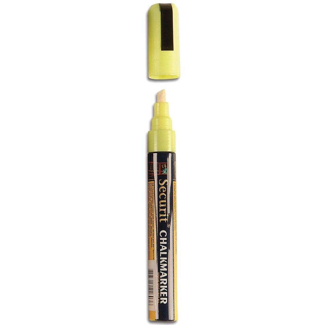 Marqueur craie 6mm jaune