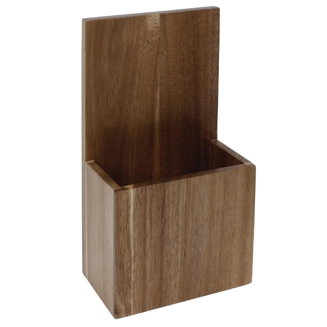 Porte-menus en bois Olympia 125x75x235mm