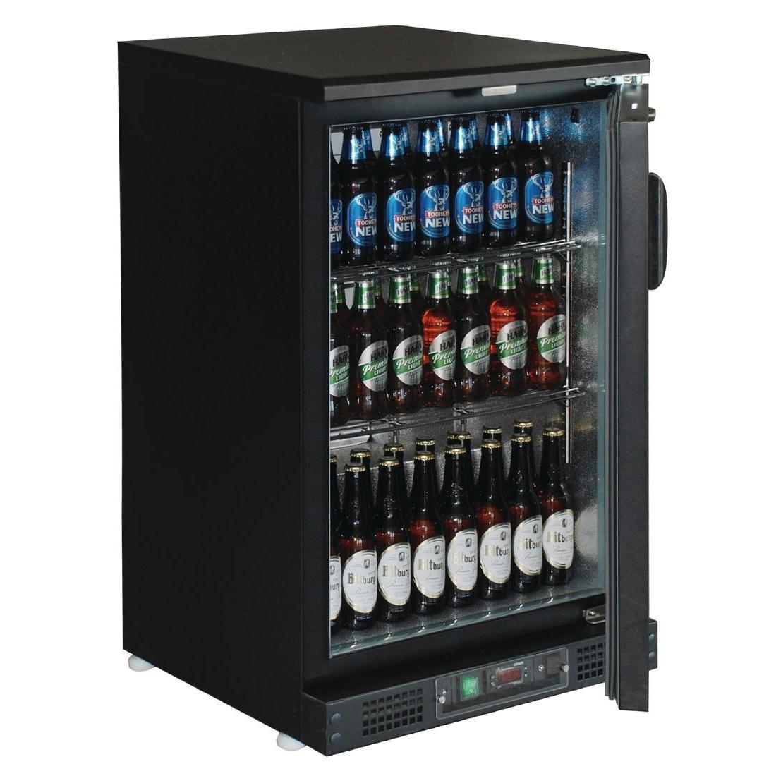 Arrière-bar porte pleine 104 bouteilles