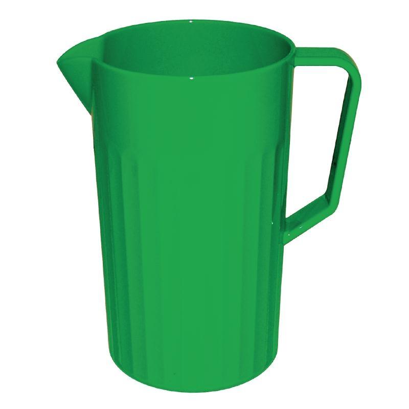 Pichet en polycarbonate vert Kristallon