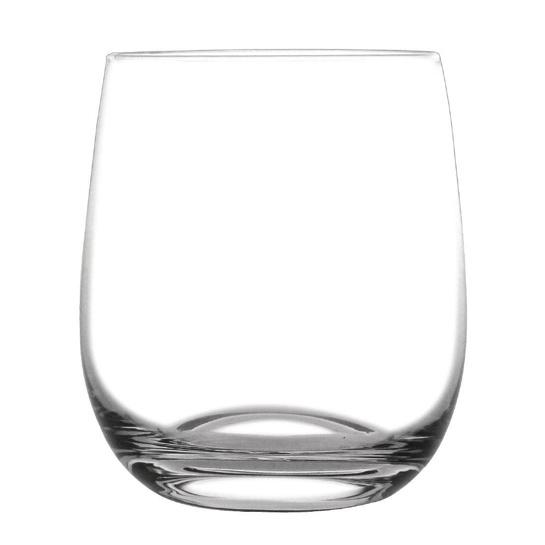 Gobelet arrondi en cristal par 6
