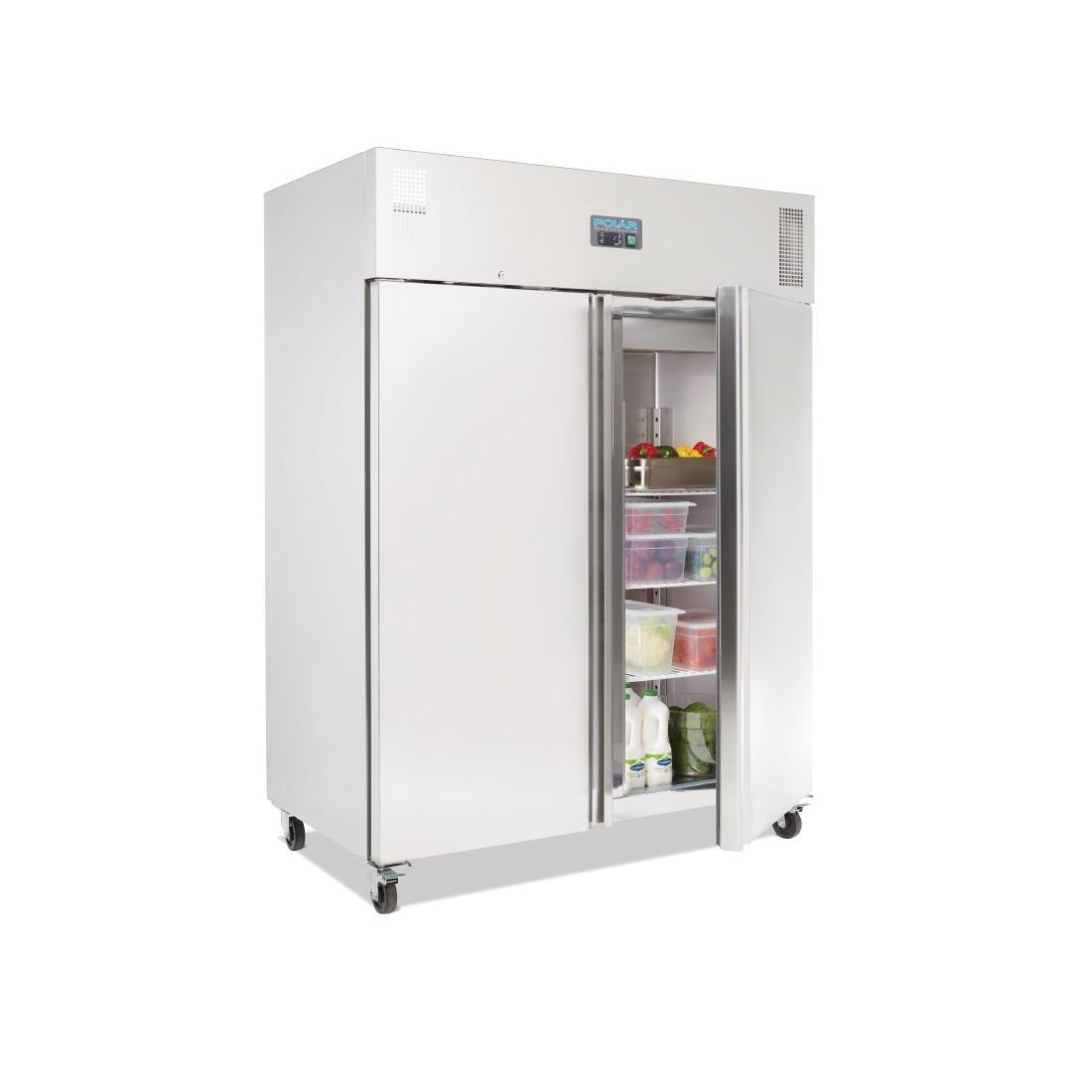 Réfrigérateur professionnel Gastronorme 2 portes 1300L