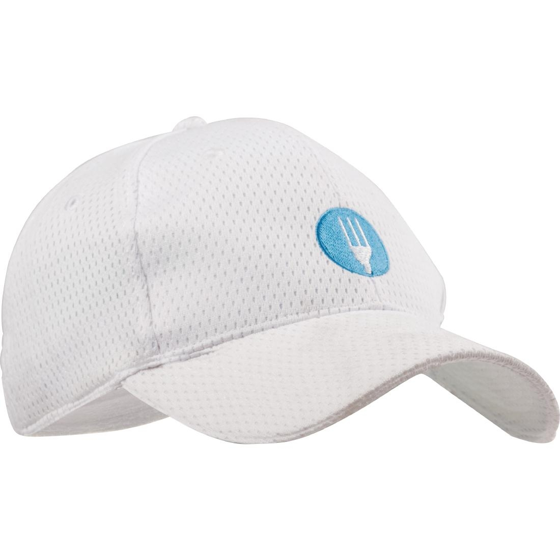 Casquette baseball Cool Vent Chef Works blanche