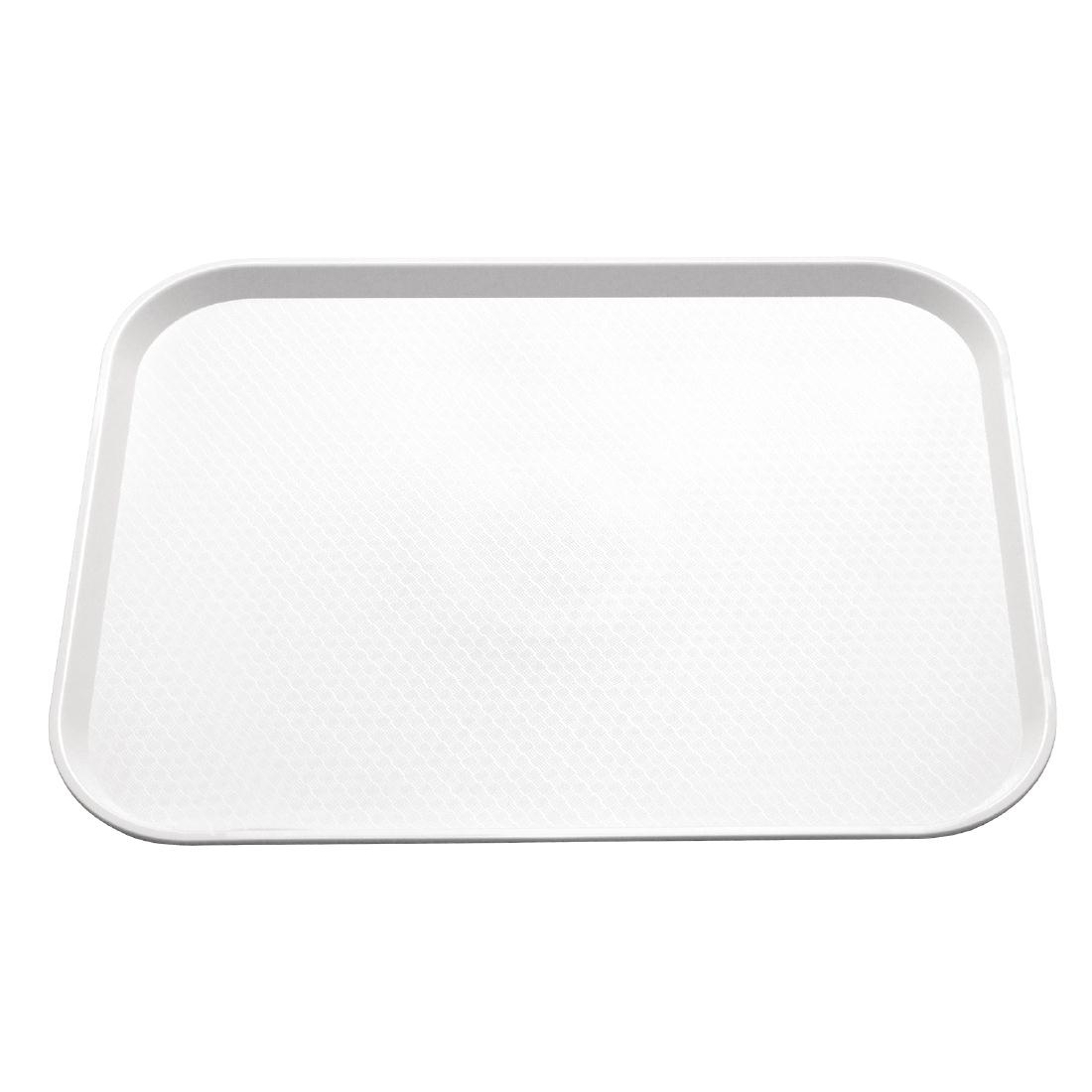 Plateau self-service Kristallon 305 x 415mm blanc