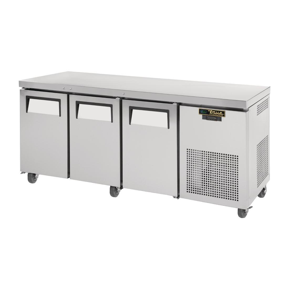 Comptoir GN réfrigéré négatif 3 portes True 456L TGU-3F