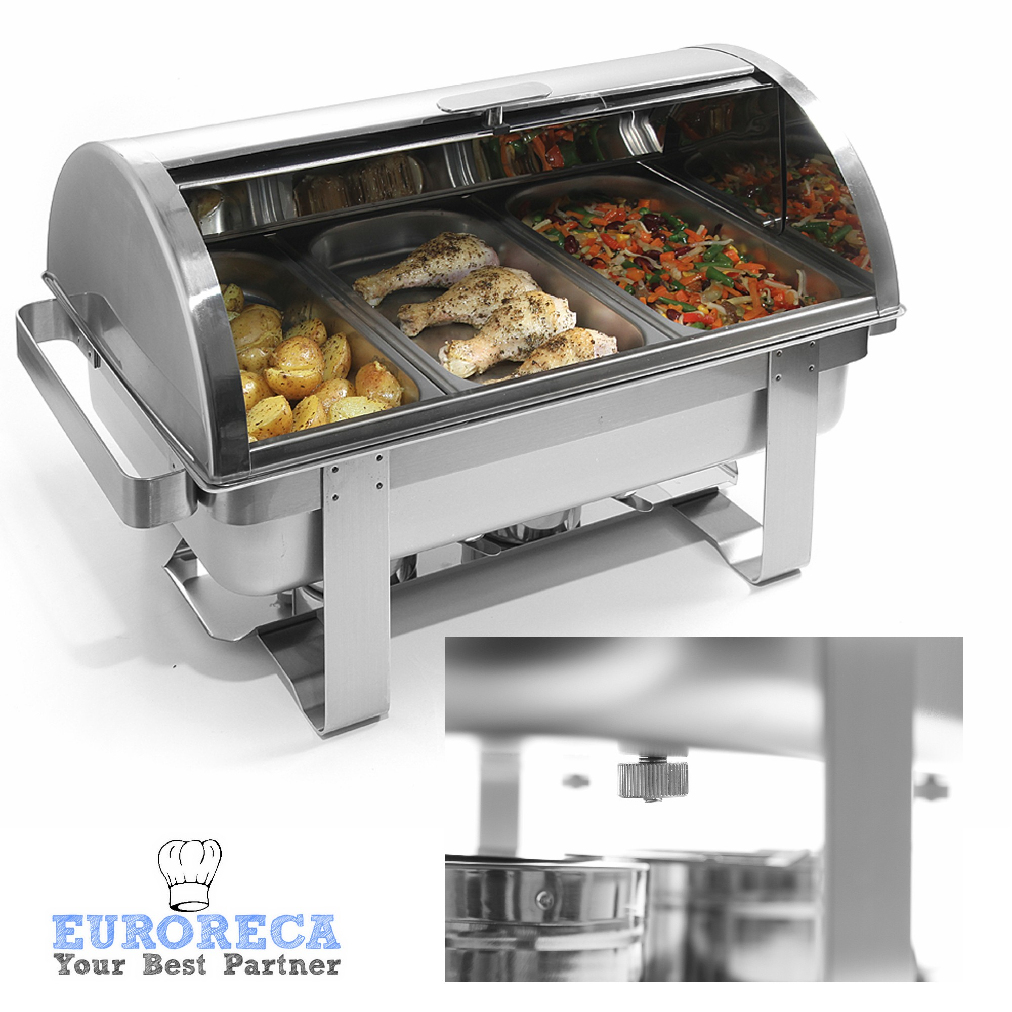 Rolltop-Chafing dish Gastronorme 1/1