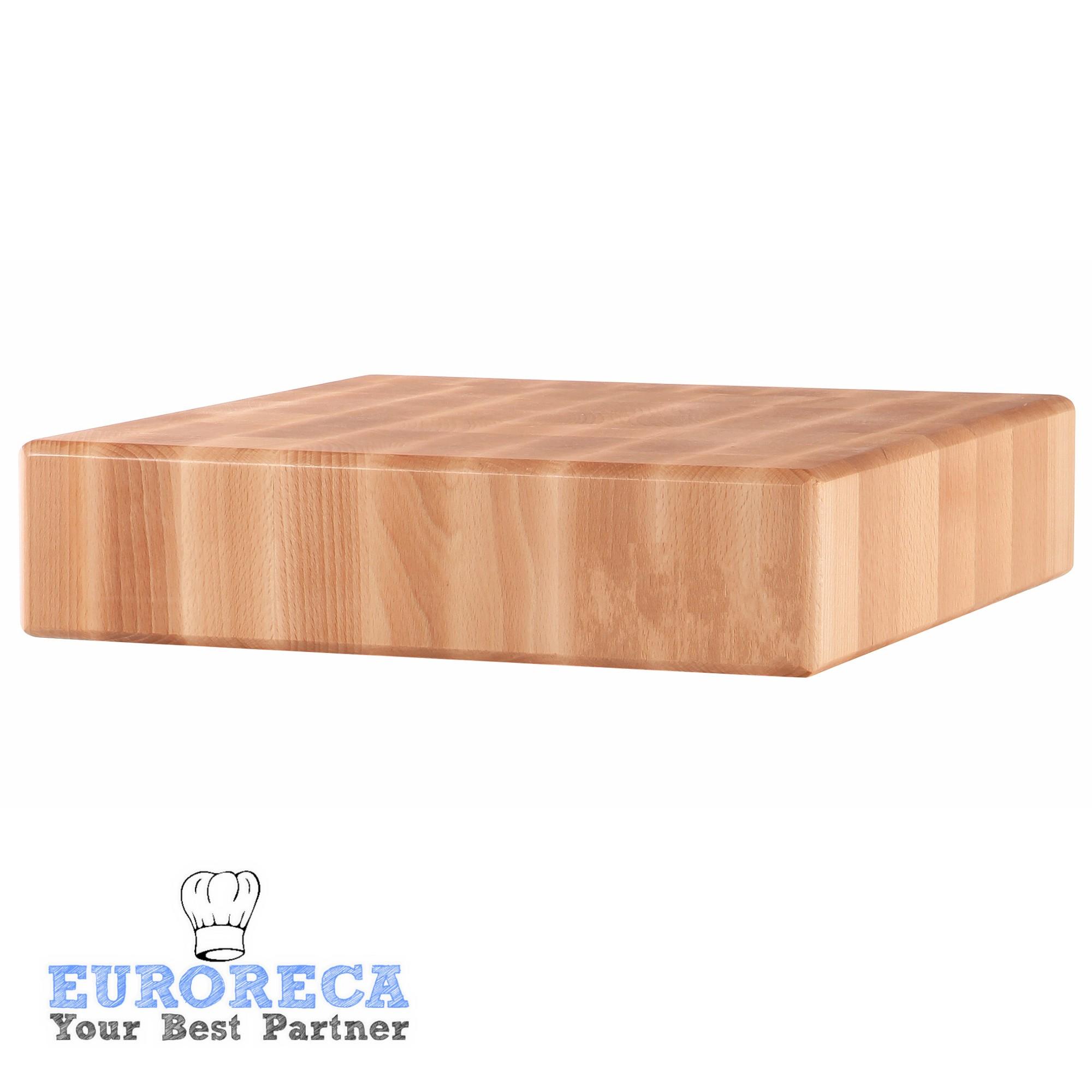 Billot en bois de bouleau 500x400mm sans piètement