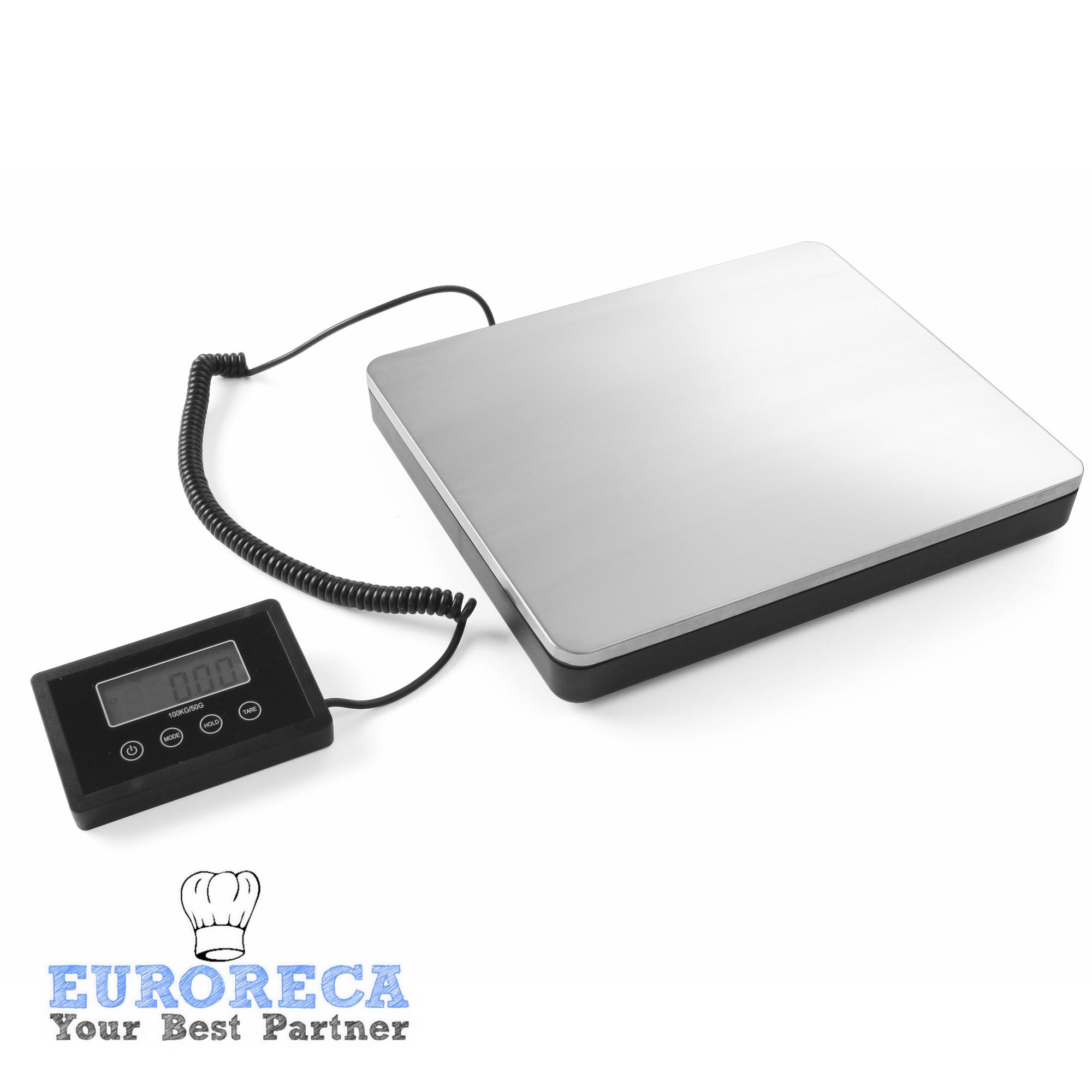 Grande balance digitale sur plateau sur batterie