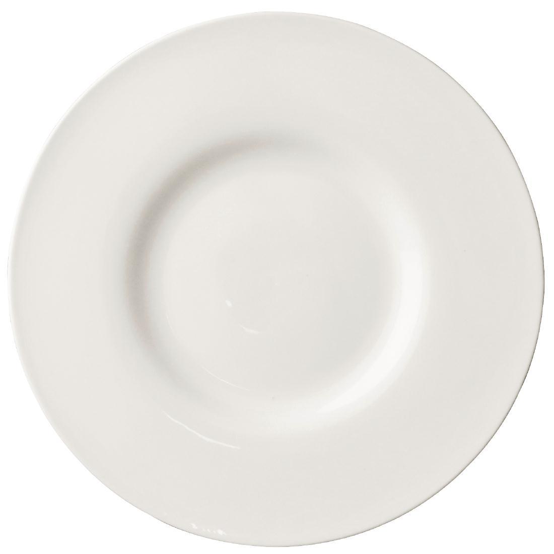 Assiette bord extra large Lumina 285mm lot de 4