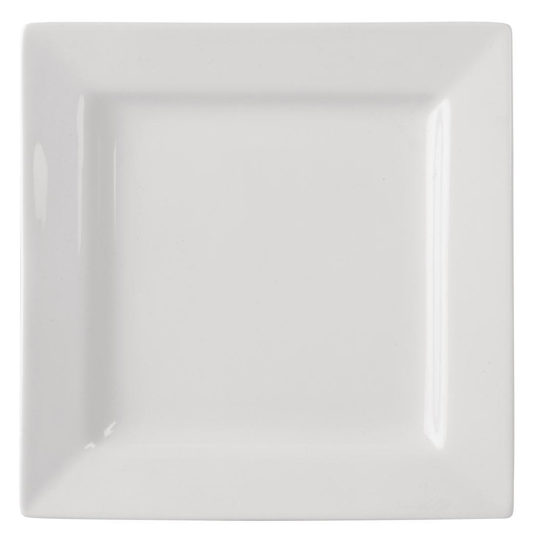 Assiettes carrées 295mm Lumina par 2