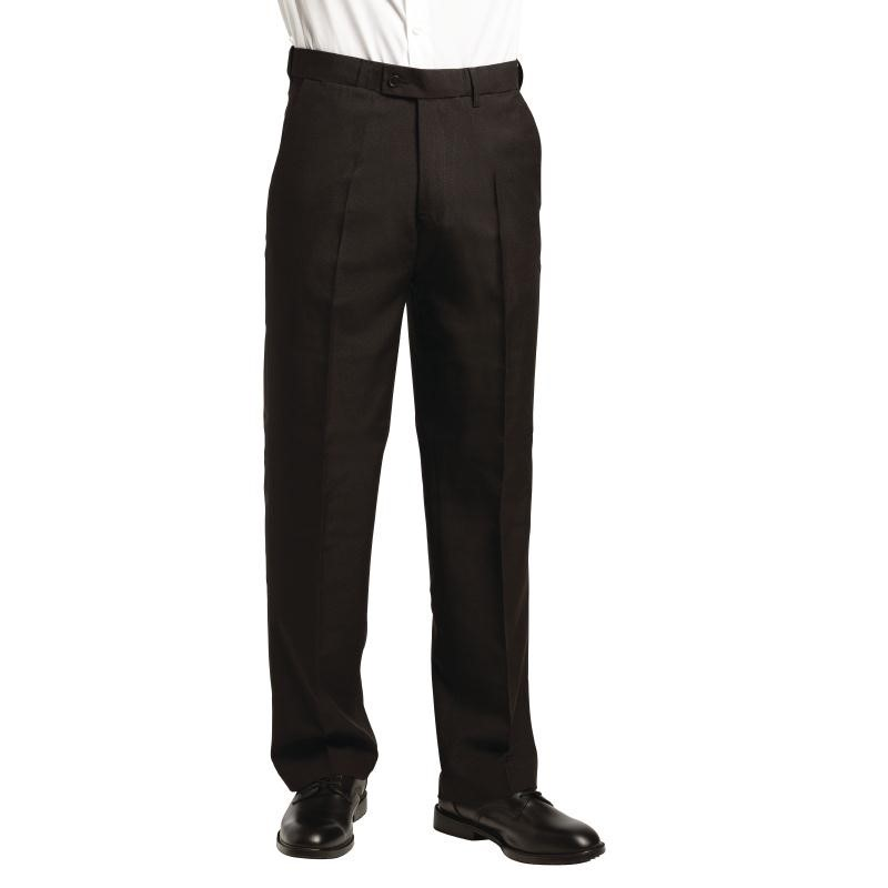 Pantalon de service homme noir