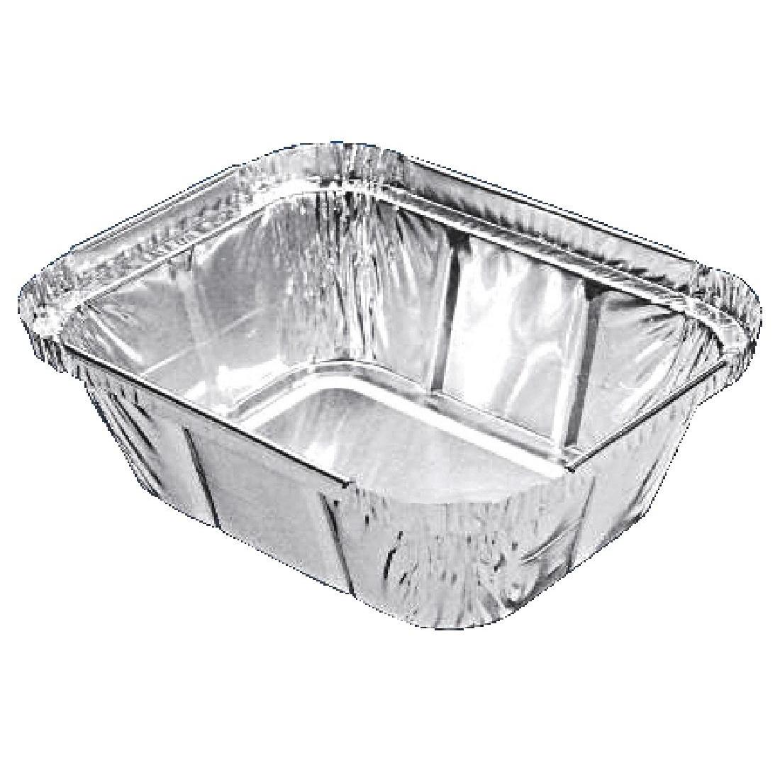 Petites barquettes rectangulaires aluminium par 1000