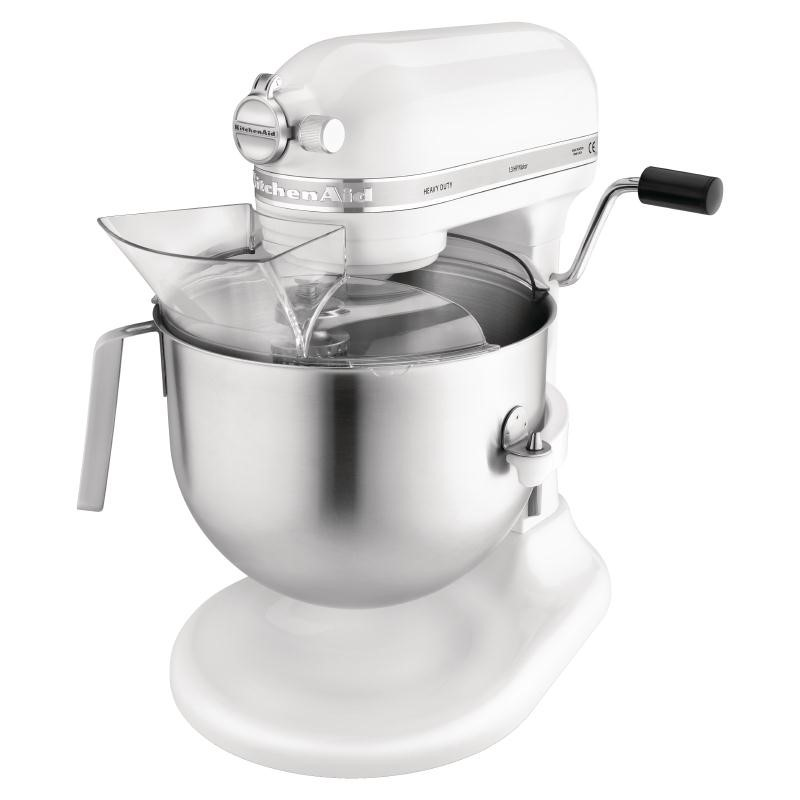 Mixeur professionnel KitchenAid blanc 6.9L