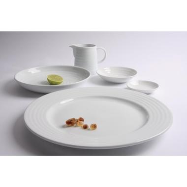 assiette intenzzo white 270mm par 4 vaisselle porcelaine blanche euroreca. Black Bedroom Furniture Sets. Home Design Ideas